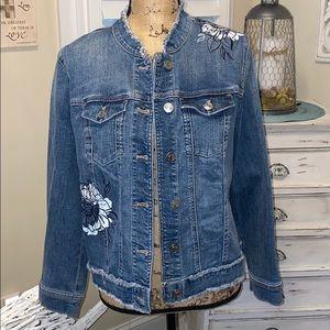 NWT Chico's Jean jacket